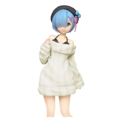 Re:Zero Starting Life in Another World Figure Knit Dress Renewal Version Rem