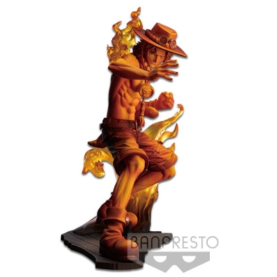 One Piece Stampede Statue Posing Series Portgas D. Ace