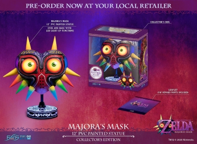 The Legend of Zelda Majoras Mask LED Replica Collectors Edition The Majoras Mask