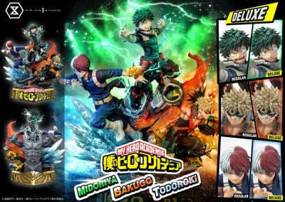 My Hero Academia Statue Deluxe Bonus Version UA Rivals