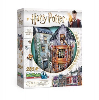 Harry Potter 3D Puzzle Weasley's Wizard Wheezes & Daily Prophet