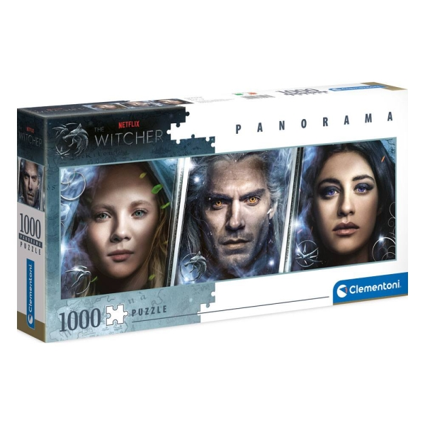 The Witcher Panorama Jigsaw Puzzle Faces