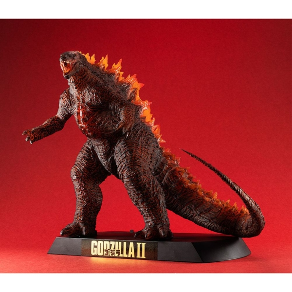Godzilla 2 King of the Monsters Figure Ultimate Article Monsters Burning Godzilla with Light-Up Function