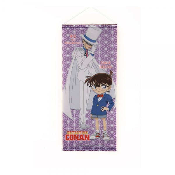 Case Closed Wallscroll Conan & Kaito Kid